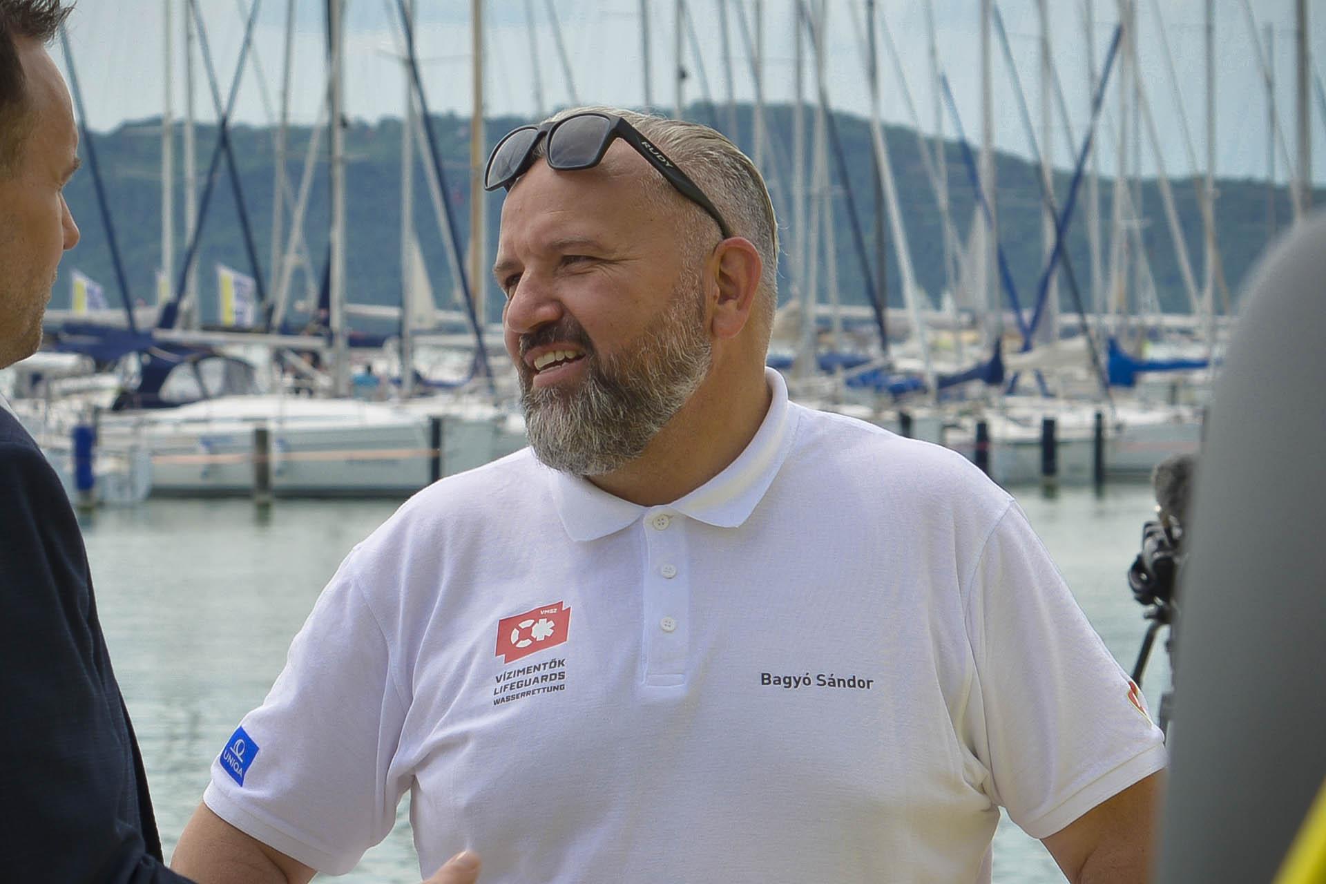 Bagyó Sándor - A Vízimentők Magyarországi Szakszolgálatának elnöke