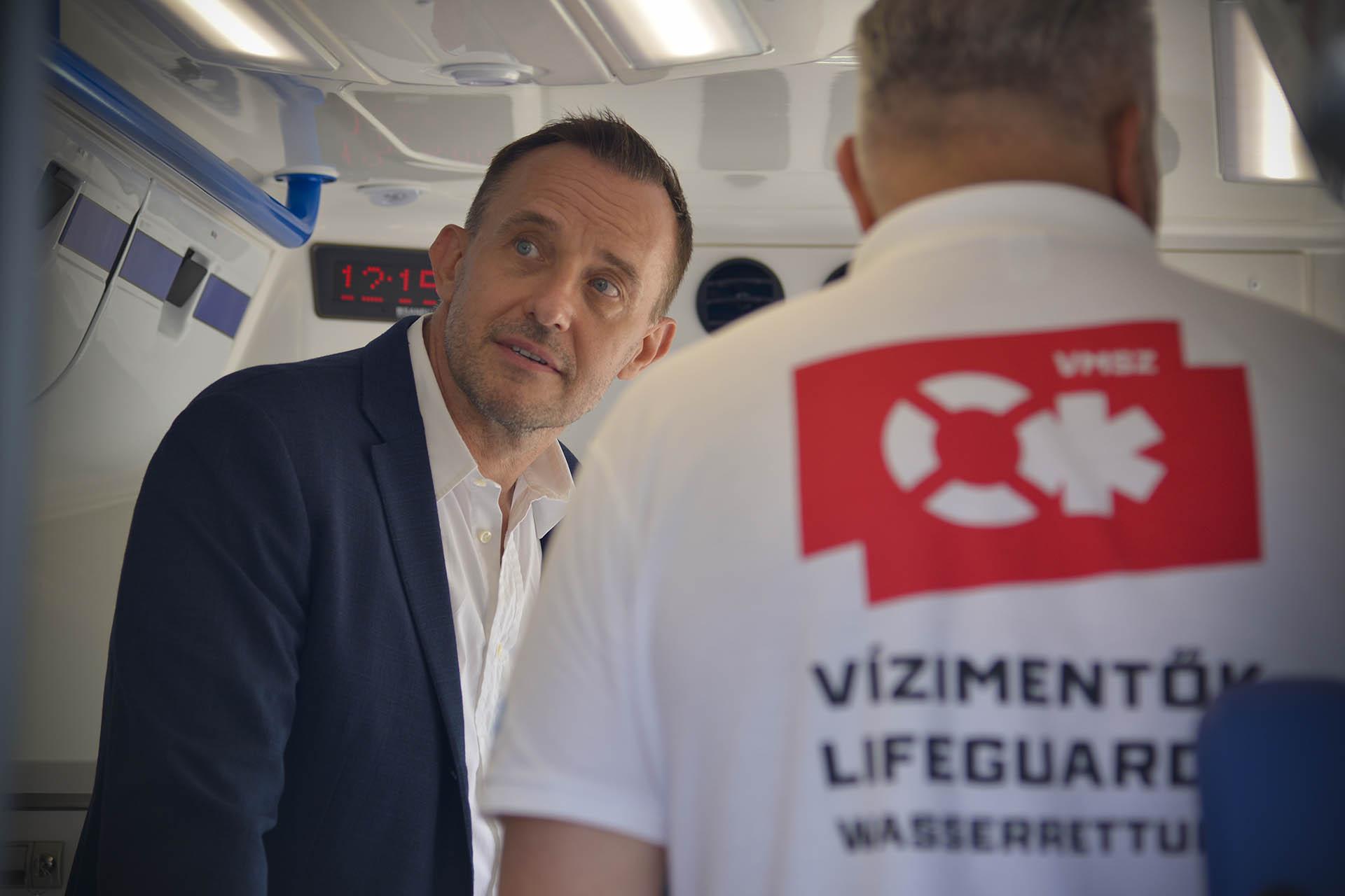 Gattyán György, a Docler cégcsoport alapító tulajdonosa.